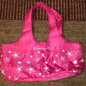 American Girl Pink Tote Bag